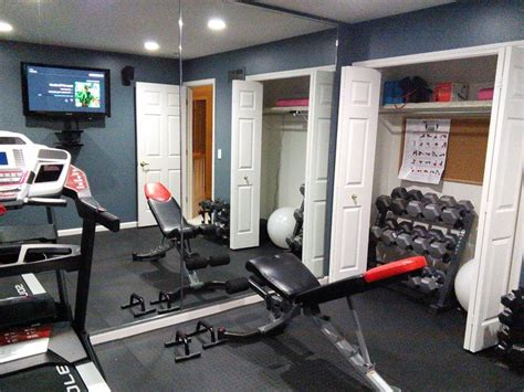 Images Of Small Home Gyms Make Your Home Work In A Small Room Movable Bench
