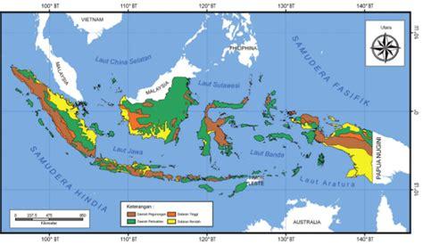 Atlas Tematik Provinsi Papua peta dataran rendah dan penghasilan sda di indonesia tipskesehatandangadget