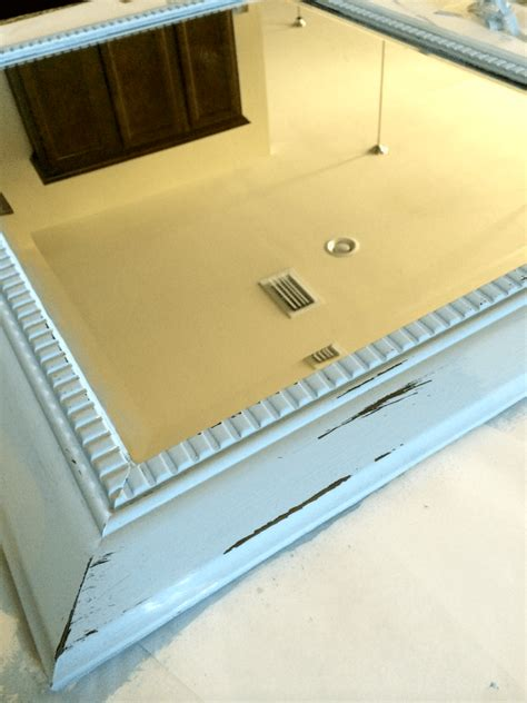 chalk paint mirror 30 minute chalk paint furniture makeover mirror