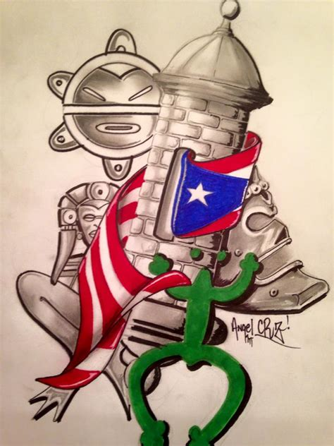 boricua tribal tattoo iotd image of the day 281 taino