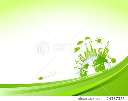 background friendly world environment friendly background stock illustration