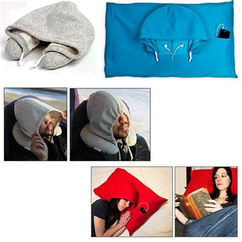 Airplane Pillow With Hoodie by Hoodiepillows Hoodie Jacket Pillow The Gadgeteer