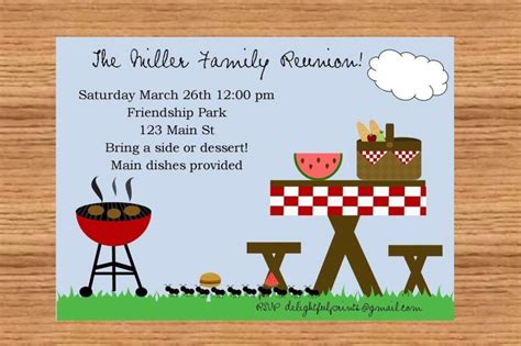 picnic invitation card template 15 free picnic flyer templates demplates