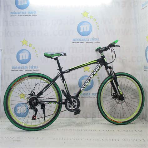 Sepeda Gunung Evergreen Blaze 620 Aloi 21 Speed 26 Inci tokosarana jakarta jatinegara mahasarana sukses bandung kiaracondong sepeda gunung evergreen
