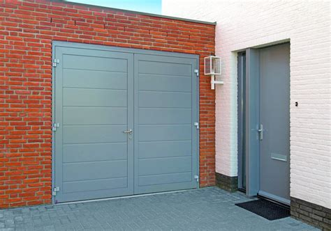 Steel Overhead Doors Steel Side Hinged Garage Doors Access Garage Doors