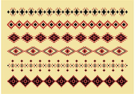 navajo pattern vector free native american pattern vectors download free vector art