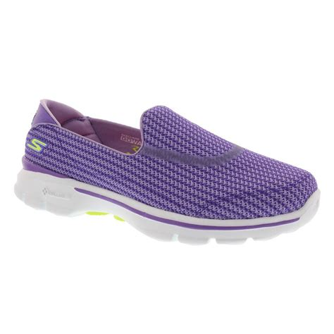 lightweight sneakers womens skechers go walk 3 slip on lightweight womens