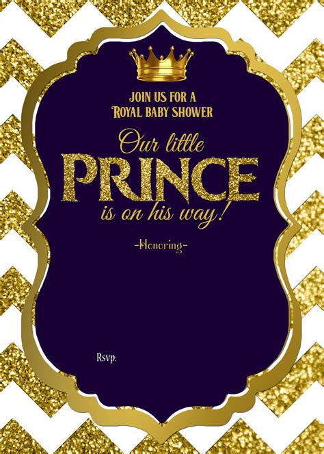 royal invitation template royal baby shower printable invitations cakraest