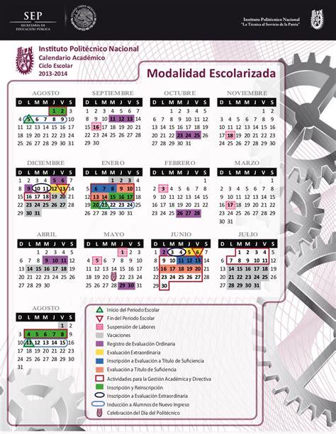Calendario Escolar Unam 2011 Calendarios Escolares 2013 2014 Escolar Mx