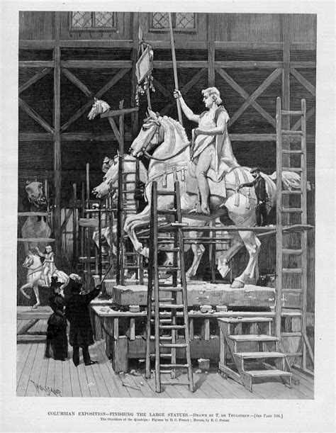 Chariot A 1893 by Chicago World S Fair Columbian Exposition Statues Great