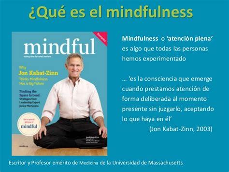 educacin mindfulness el educar para el cambio mindfulness