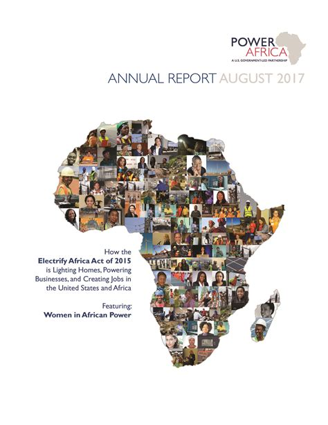Usaid Annual Report Template annual report power africa u s agency for