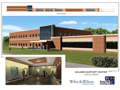 Rocky Hill Post Office by Fort Solider Support Center Rocky Hill Contracting