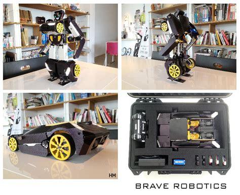Mobil Robot Tranformer Remote Scale 1 12 transformer robot rc in scala 1 12 brave robotics