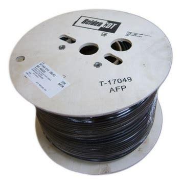Kabel Serabut Transparan 1 Roll by Kabel Coaxial Belden Rg6 9116s Original Untuk Antena Tv