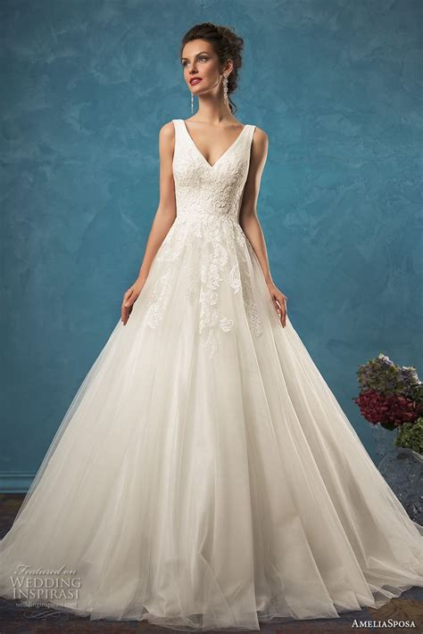 best 25 v neck wedding dress ideas on pinterest