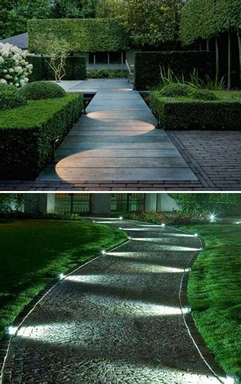 landscape lighting ideas walkways diy pathway lighting ideas for garden and yard amazing diy interior home design
