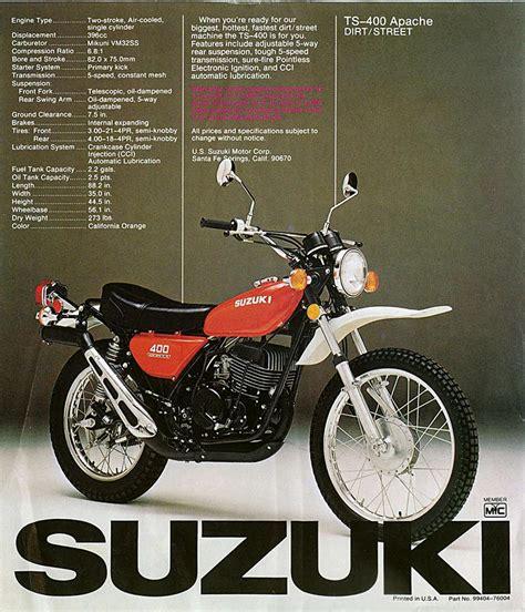 Suzuki Ts 400 For Sale Suzuki Ts 400 Quotes