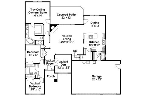prairie style floor plans plan w14469rk premium collection contemporary photo