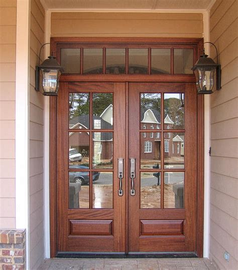 Building Exterior Doors Homeofficedecoration Build Exterior Wood Door