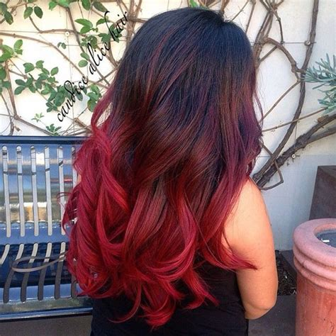 red ombre hair 10 shades of red more choices to dye your hair red