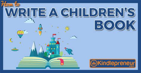 how to write a childrens picture book kindlepreneur by dave chesson