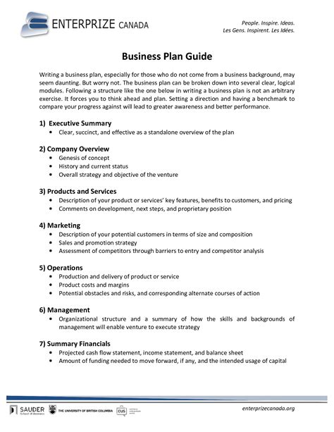 Printable Sle Business Plan Sle Form Forms And Template Legal Forms Sle Business Summer C Business Plan Template