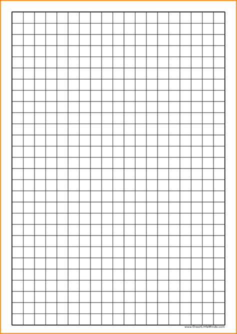 printable graph paper a4 5mm 11 grid paper to print applicationleter com