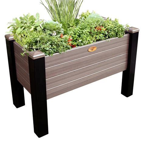 vertical wall planters pots planters the home depot