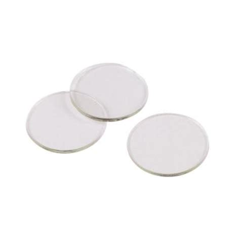 glass table top plastic spacers shepherd 3 4 in clear vinyl non adhesive discs for glass