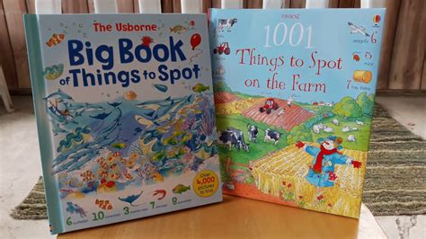 Usborne Book Of Things To Spot Out And About Board Book 1 usborne big book of things to spot 4 titles in 1