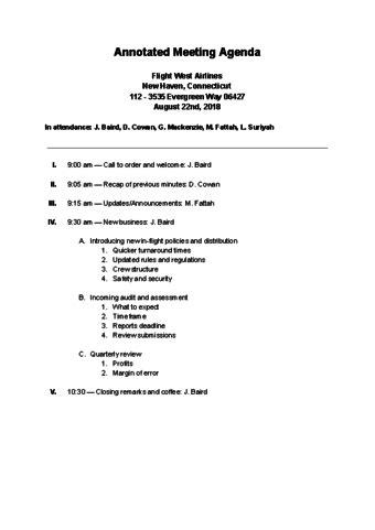 write  agenda   meeting  sample agendas