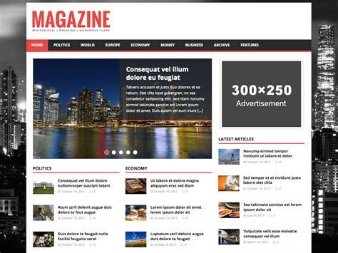 20 free magazine themes for wordpress theme directory free wordpress themes