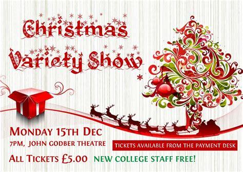 nc moodle christmas variety show