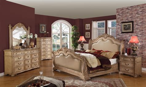 traditional king bedroom sets royale sleigh bed traditional bedroom set antique
