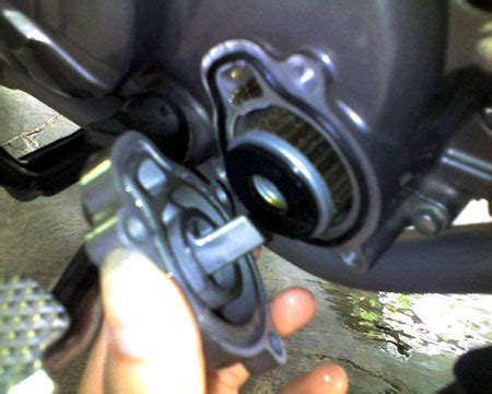 Pompa Air Radiator Mx Aripitstop 187 Cek Kondisi Filter Oli Kotor Wajib Ganti