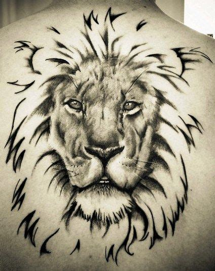 3d lion tattoo 3d back jpg 424 215 533 tattoos