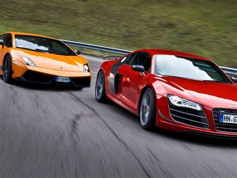 Lamborghini Gallardo Vs Audi R8 Lamborghini Gallardo Vs Audi R8 Gt Vs Porsche 911 Turbo