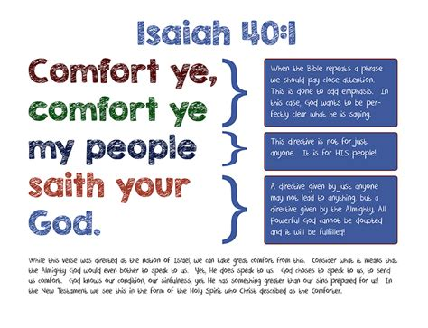 comfort comfort ye my people visual aid comfort my people refrigerator devotionals