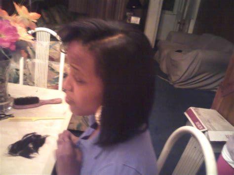 glue in bob glue weave bob cut hair makeup pinterest