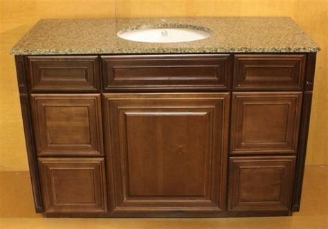 bathroom vanity maple grandbay by kraftmad maple bathroom vanity sink cabinet 54 quot w brown g