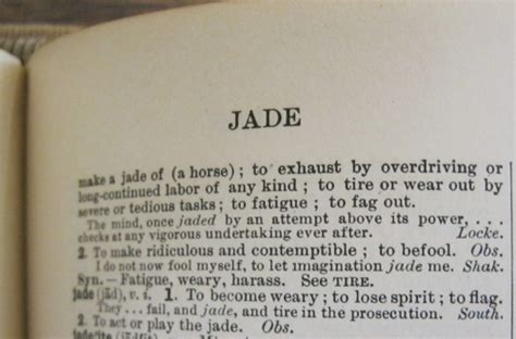 Jaded: a word for our times   The Curious People