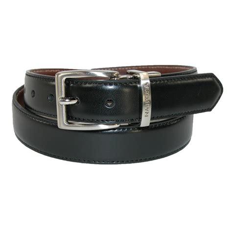 boys glove calf leather reversible dress belt pack of 2