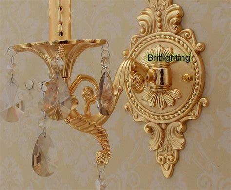 Unique Bathroom Sconces Bedside Led Wall Lights Vanity Light Luxury Gold Wall L