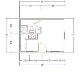 12x24 floor plans 12x24 small house plans house plans