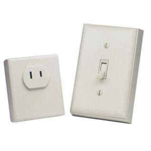 heath zenith wireless switch outlet bl 6136 la the home