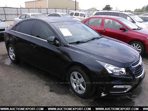 chevrolet cruze used car for sale used 2016 chevrolet cruze 2lt car for sale at auctionexport
