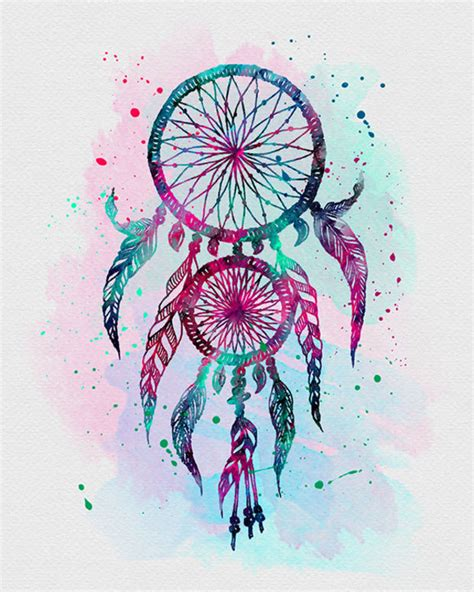 watercolor tattoo in la dreamcatcher bedroom tatting and