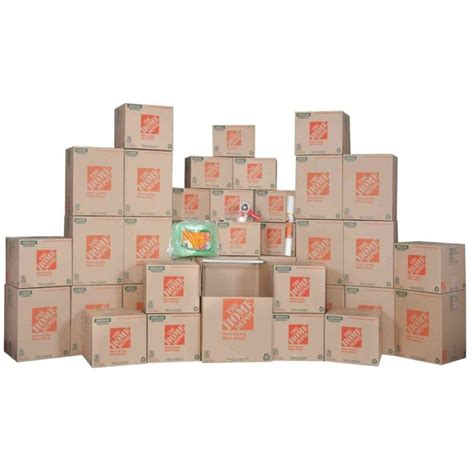 home depot small moving box the home depot 11 box master bedroom moving kit hdmb1