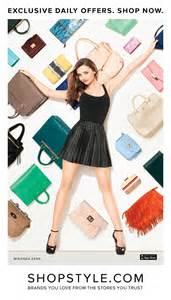 Fab Site Instyle Shopping With Shopstyle by Miranda Kerr For Shopstyle Caign By Terry Richardson